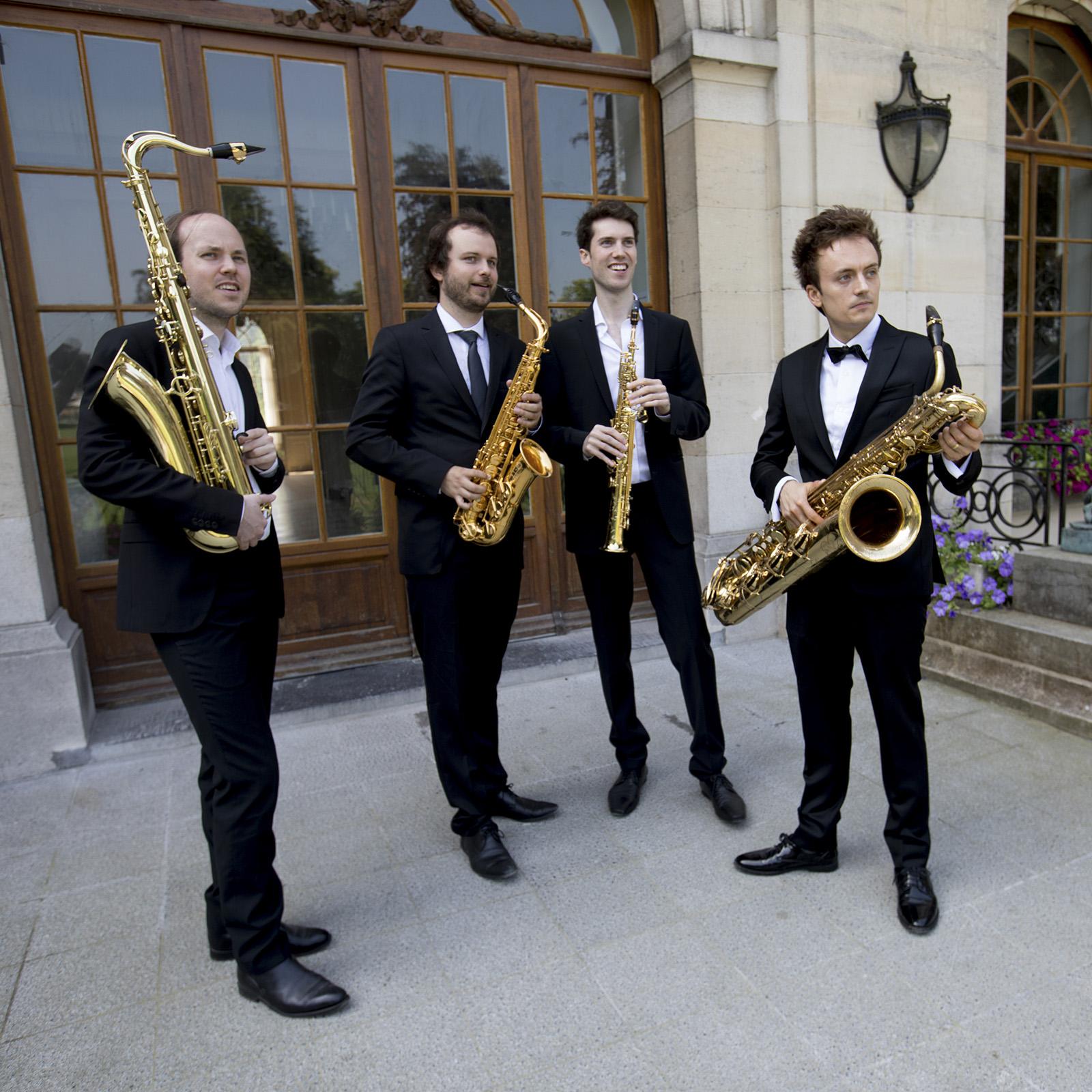 Anemos Saxofoon kwartet – Anemos Reflections